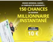 Un joueur de Grand Mondial Casino a décroché le jackpot progressif Mega Moolah