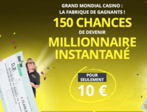 Mega Moolah : Plus de 18 millions € tombent sur Grand Mondial Casino