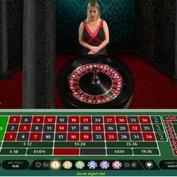 Roulette en live sur Cresus Casino