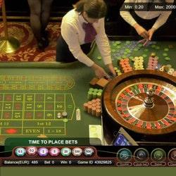 La roulette du Palace Casino de Bucarest dispo sur Dublinbet