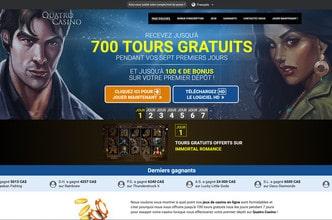 Revue et Avis sur Quatro Casino par Croupiers en Direct