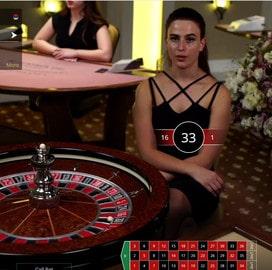 Roulette en live Betconstruct sur Lucky31 Casino