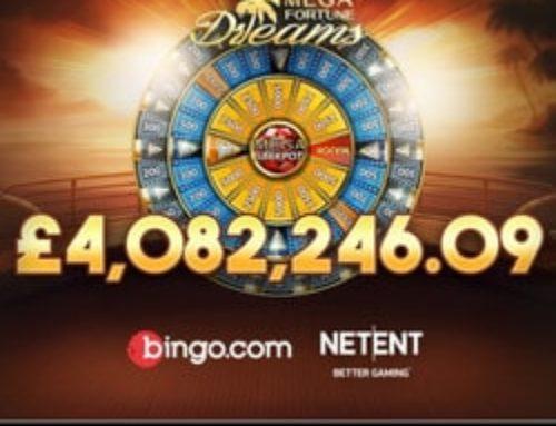 Un anglais décroche le jackpot progressif Netent Mega Fortune Dreams