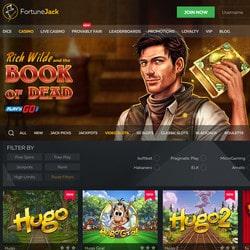 Fortunejack propose plus de 3000 jeux de casino en ligne