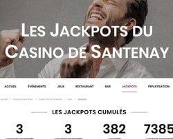 Un joueur décroche 2 jackpots au Joa Casino de Santenay