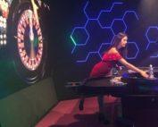 Blaze Roulette filmée par Croupiers en Direct au Live Arena de Malte
