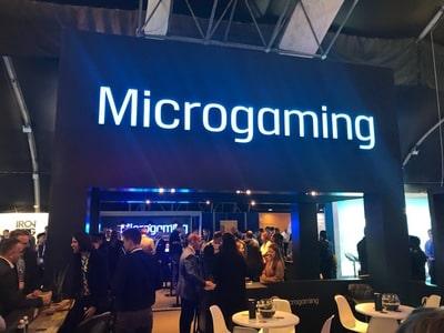 Stand du logiciel Microgaming au salon igaming de SIGMA 2018