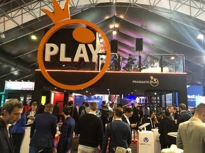 Stand du logiciel Pragmatic Play au salon igaming de SIGMA 2018