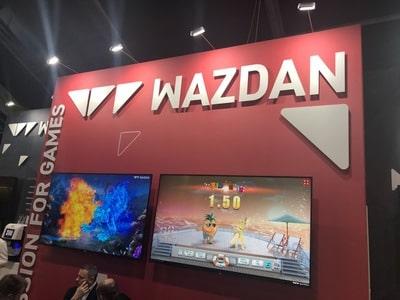 Stand du logiciel Wazdan au salon igaming de SIGMA 2018