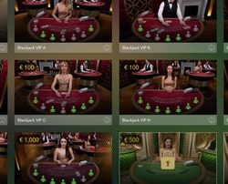 Jouer au black jack en ligne VIP sur Dublin Bet Casino