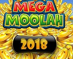 Jackpot progressif Mega Moolah 2018