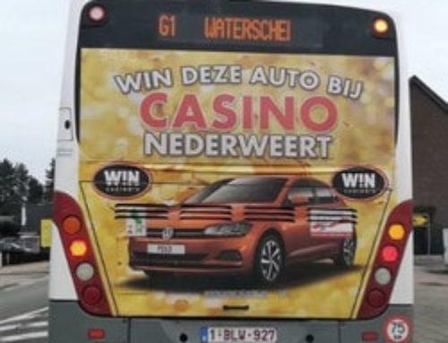 Publicité sur des bus pour des casinos belges, la CJH sévit