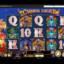 Machine a sous gratuite Carnaval Forever de Betsoft sur Casino Extra