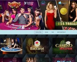 Casino en direct Magical Spin