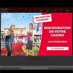 Inauguration de la nouvelle salle de jeux du casino La Roche-Posay