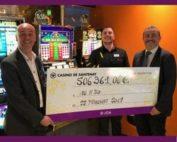 Des joueurs décrochent le jackpot au vidéo poker et slot au Casino JOA de Santenay