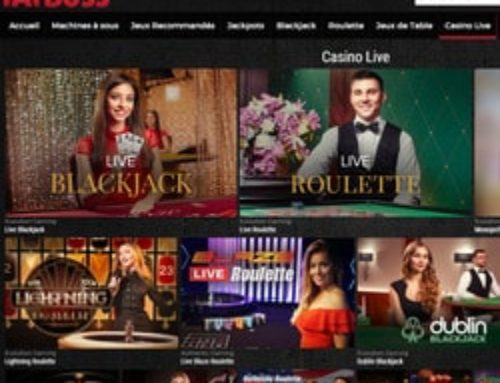 Fatboss, un casino en ligne complet