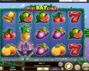 Machine a sous FruitBat Crazy de Betsoft sur Casino Extra
