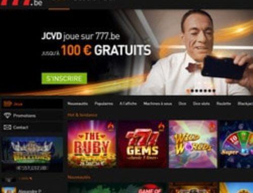 Jean-Claude Van Damme en égérie de Casino777 !
