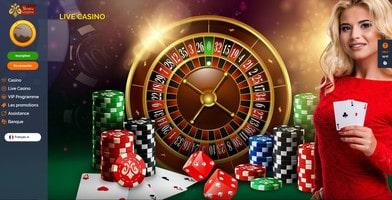 Casino en live Montecryptos sur Croupiers en Direct