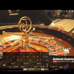Jeu de roulette en ligne en direct du Bad Homburg Casino en Allemagne