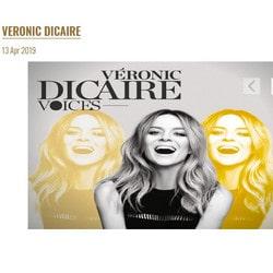 Veronic Dicaire se produit au Casino du Liban les 13 et 14 avril 2019