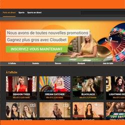 Casino en ligne bitcoin Cloudbet disponible en français