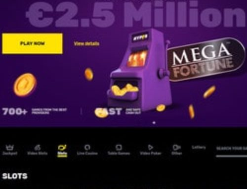 Le jackpot Mega Fortune Dreams tombe dans un casino légal suédois