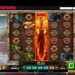 Machine à sous gratuite Phoenix Reborn de Play'n Go sur Fatboss Casino