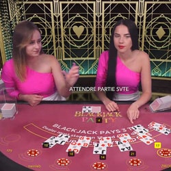 Table Blackjack en Live