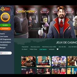 Le casino Montecryptos intègre le guide Croupiers en Direct