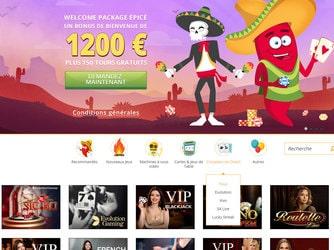 Casino en ligne Spicy Spins