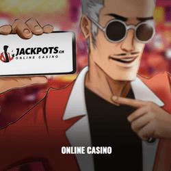 Jackpots.ch est le casino en ligne du Grand Casino Baden