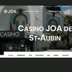 Mise à la casse d'une dizaine de machines à sous du Joa Casino de Saint-Aubin