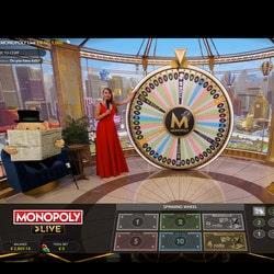 Jeu de Monopoly en live sur MrXbet Casino
