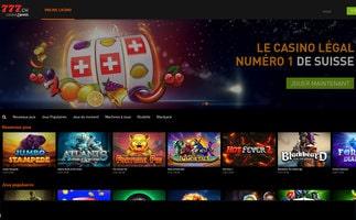 Casino777 est le premier casino légal en Suisse