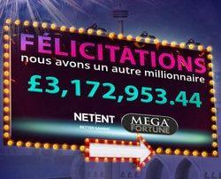 Machine a sous au jackpot progressif Mega Fortune de NetEnt
