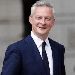 Bruno Le Maire est le Ministre de l'Economie et des Finances, annonce la privatisation de la FDJ