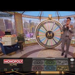 Monopoly Live sur KingBit casino