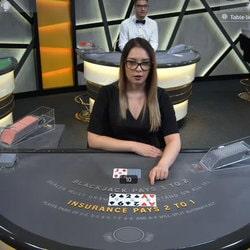 Table de baccarat Ezugi sur le casino en ligne bitcoin KingBit