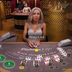 Les tables de blackjack VIP en nombre dans les casinos en ligne