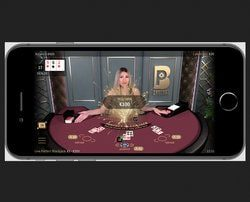 Table de jeu Live Perfect Blackjack de Netent Live