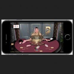 Table de jeu Live Perfect Blackjack de Netent Live