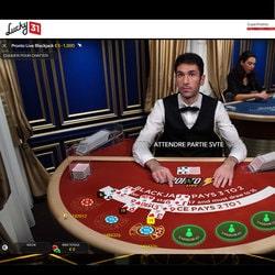 Table Pronto Blackjack sur Lucky31