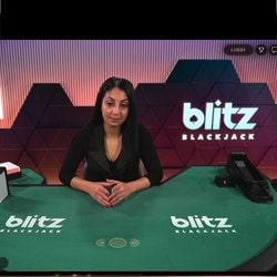 Black jack en ligne Blitz Blackjack de Netent Live