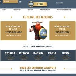 Jackpot progressif au casino de Vittel