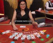 Table Speed Blackjack d'Evolution Gaming