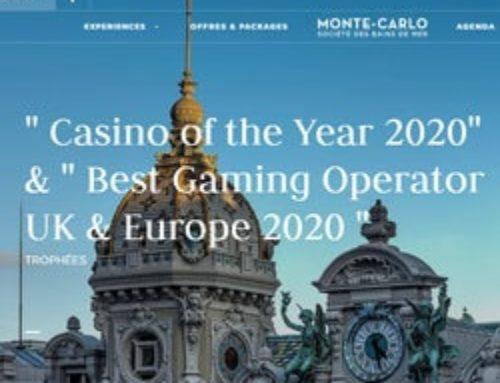 Le Casino de Monte-Carlo de nouveau sacré meilleur casino de l'année