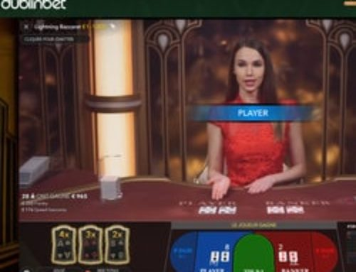 Lightning Baccarat d'Evolution Gaming disponible sur Dublinbet