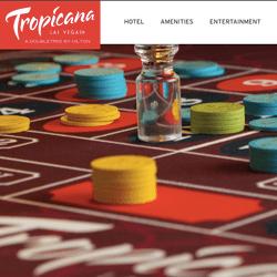 Vente prochaine du Tropicana Casino de Las Vegas